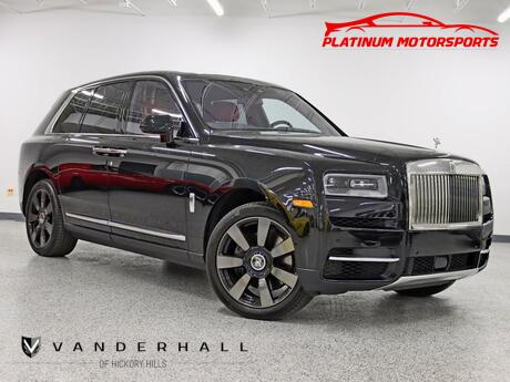 2021 Rolls-Royce Cullinan The Baddest Truck Out 1 Owner V12 Star Light Pkg Rear Entertainment Drive In Excellence Hickory Hills IL
