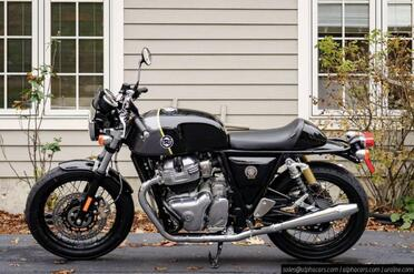 2021_Royal Enfield_Continental GT 650_Cafe Racer Package_ Boxborough MA