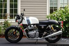 2021 Royal Enfield Continental GT 650 Ice Queen