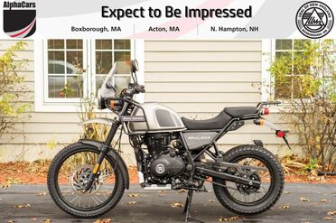 2021_Royal Enfield_Himalayan_Gravel Grey_ Boxborough MA