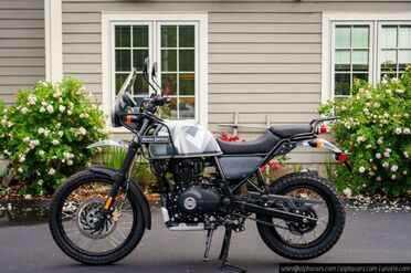2021_Royal Enfield_Himalayan_Sleet_ Boxborough MA