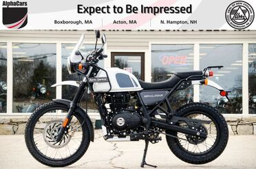2021_Royal Enfield_Himalayan_Snow_ Boxborough MA
