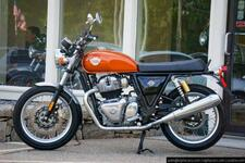 2021 Royal Enfield Interceptor INT650 Orange Crush