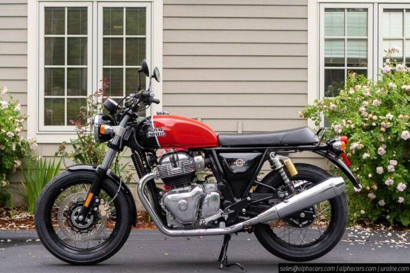 2021 Royal Enfield Interceptor INT650 Ravishing Red Boxborough MA