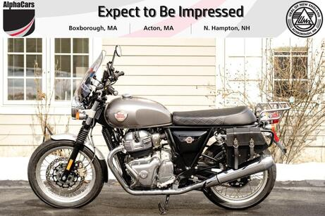 2021 Royal Enfield Interceptor INT650 Silver Spectre Touring Boxborough MA