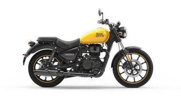 2021_Royal Enfield_Meteor_Fireball Yellow_ Boxborough MA