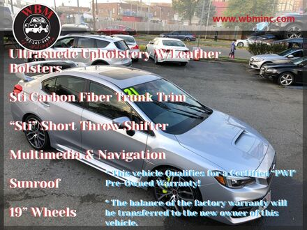 2021_Subaru_WRX_STI Limited Manual w/ Wing Spoiler_ Arlington VA