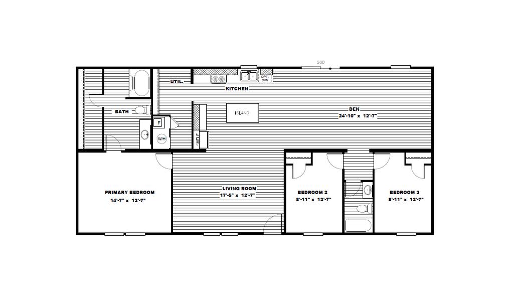 2021 TRU MH MARVEL 3 1,568 SQFT Sealy TX