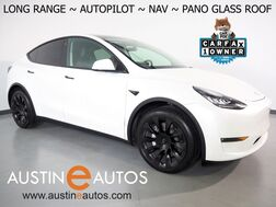 2021_Tesla_Model Y Long Range AWD_*NAVIGATION, SAFETY ALERTS, ADAPTIVE CRUISE, SURROUND VIEW CAMERAS, PANORAMA GLASS ROOF, HEATED SEATS/STEERING WHEEL, 20 INCH WHEELS, BLUETOOTH PHONE & AUDIO_ Round Rock TX