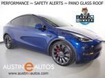 2021 Tesla Model Y Performance AWD *NAVIGATION, SAFETY ALERTS, ADAPTIVE CRUISE, SURROUND VIEW CAMERAS, PANORAMA GLASS ROOF, HEATED SEATS/STEERING WHEEL, 21 INCH WHEELS, BLUETOOTH PHONE & AUDIO
