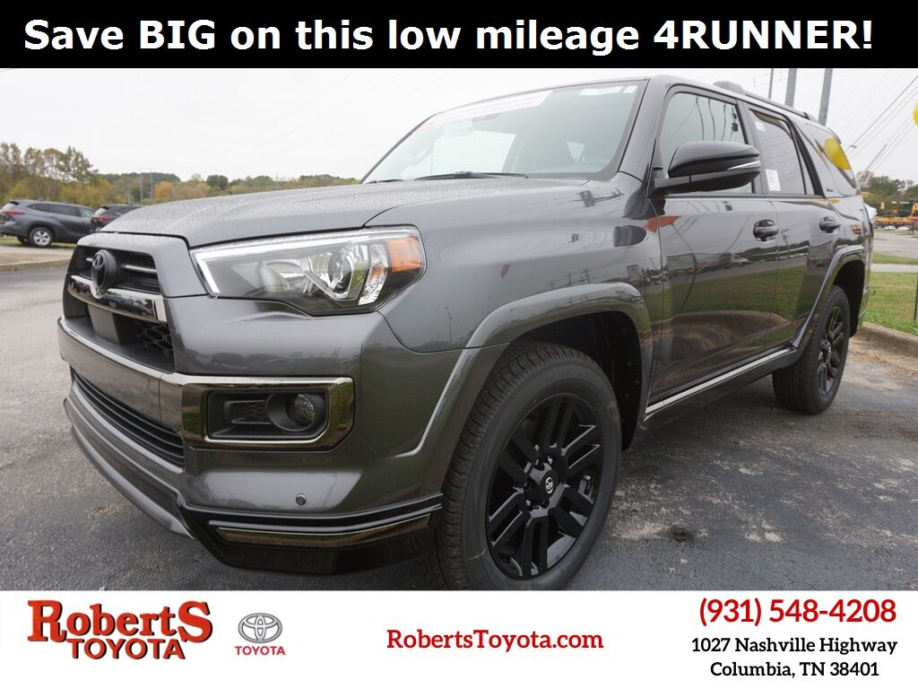 2021 Toyota 4Runner Nightshade Columbia TN