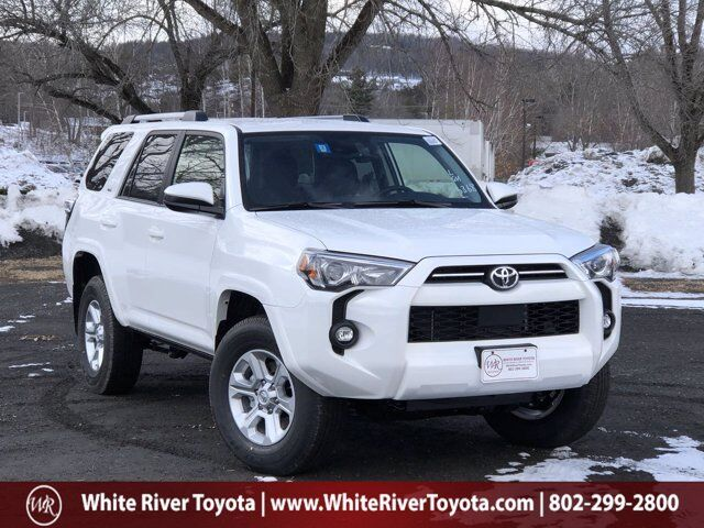 2021 Toyota 4Runner SR5 White River Junction VT