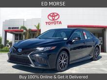 2021_Toyota_Camry Hybrid_SE_ Delray Beach FL
