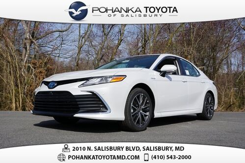 2021_Toyota_Camry Hybrid_XLE_ Salisbury MD