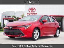 2021_Toyota_Corolla Hatchback_SE_ Delray Beach FL
