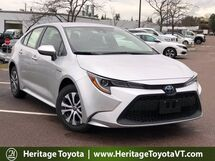 2021 Toyota Corolla Hybrid LE South Burlington VT