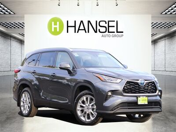 2021_Toyota_Highlander Hybrid_Limited_ Santa Rosa CA