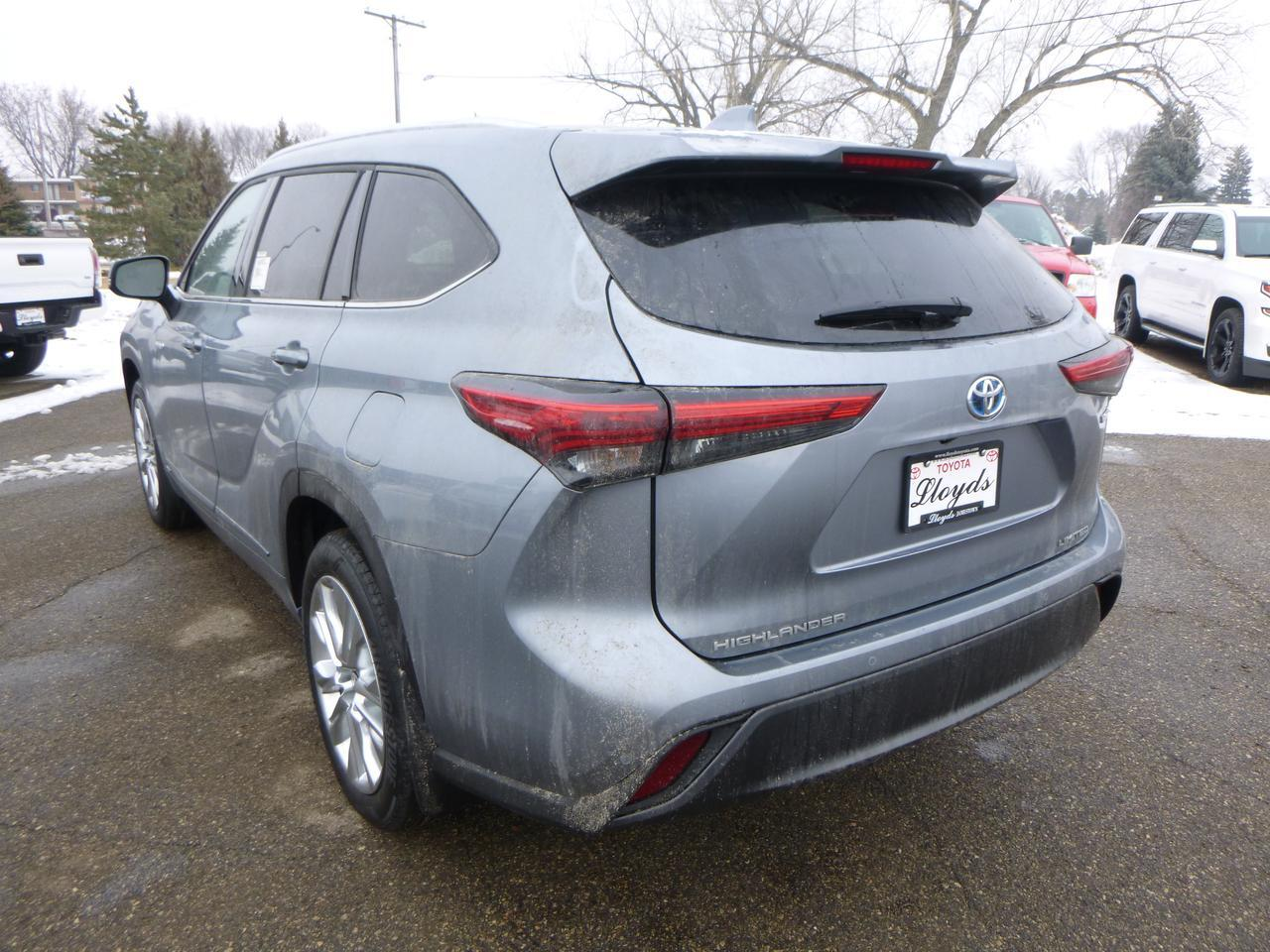2021 Toyota Highlander Hybrid Limited L4 AWD Jamestown ND