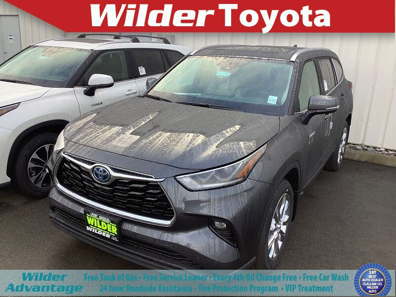 2021 Toyota Highlander Hybrid Limited Port Angeles WA