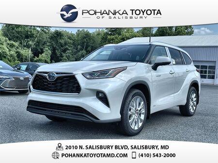 2021_Toyota_Highlander Hybrid_Limited_ Salisbury MD
