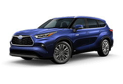 Toyota Highlander Hybrid Platinum Santa Rosa CA