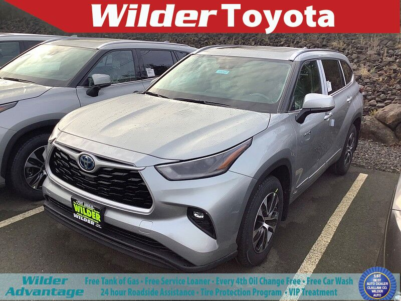 2021 Toyota Highlander Hybrid XLE Port Angeles WA
