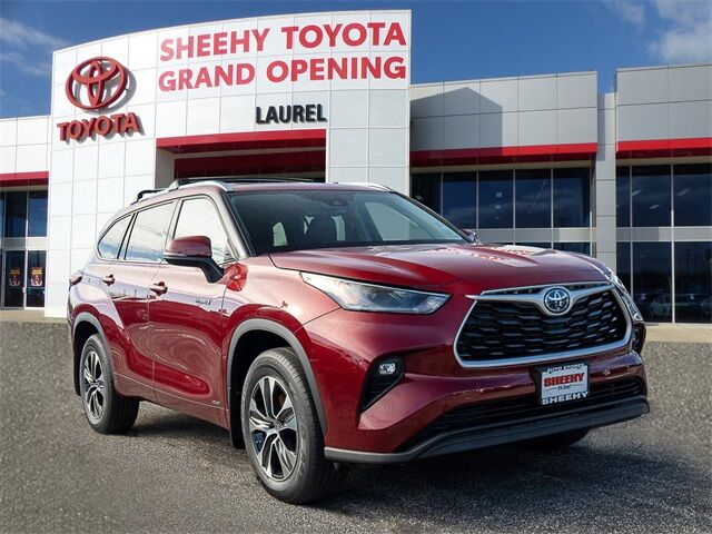 2021 Toyota Highlander Hybrid XLE Laurel MD