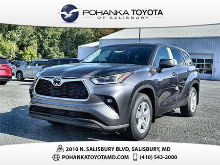 2021_Toyota_Highlander_LE_ Salisbury MD
