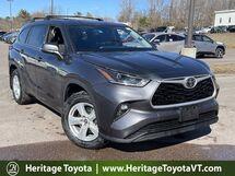 2021 Toyota Highlander LE South Burlington VT