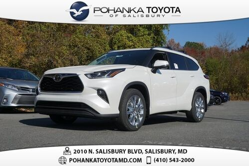 2021_Toyota_Highlander_Limited_ Salisbury MD