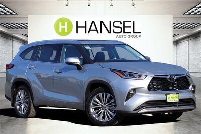 2021_Toyota_Highlander_Platinum_ Santa Rosa CA