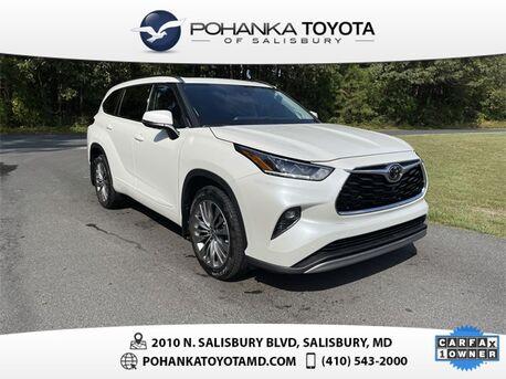 2021_Toyota_Highlander_Platinum_ Salisbury MD