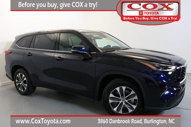2021 Toyota Highlander XLE Burlington NC