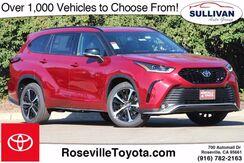 2021_Toyota_Highlander_XSE_ Roseville CA