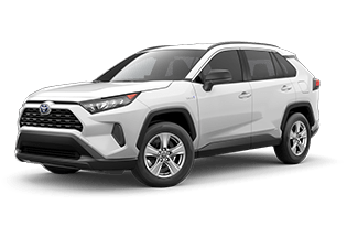 2021 Toyota RAV4 Hybrid LE All-Wheel Drive (AWD)