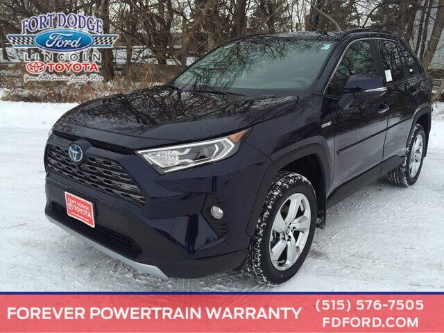 2021 Toyota RAV4 Hybrid Limited Fort Dodge IA