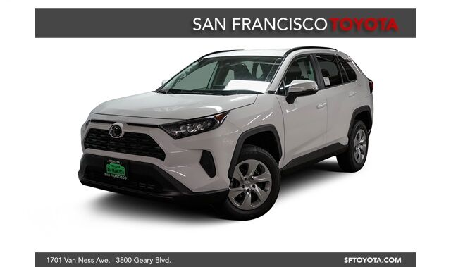 2021 Toyota RAV4 LE Front-Wheel Drive (FWD)