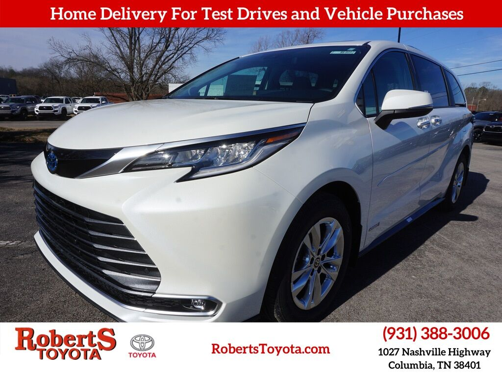 2021 Toyota Sienna Limited Columbia TN