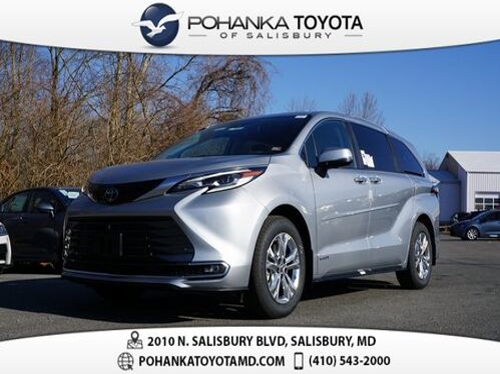 2021_Toyota_Sienna_Platinum 7 Passenger_ Salisbury MD