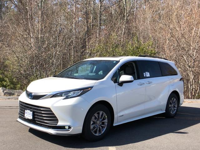 2021 Toyota Sienna XLE FWD 8-Passenger Hanover MA