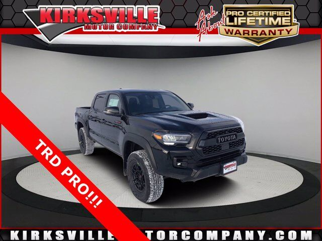 2021 Toyota Tacoma 4WD TRD Pro Double Cab 5' Bed V6 AT