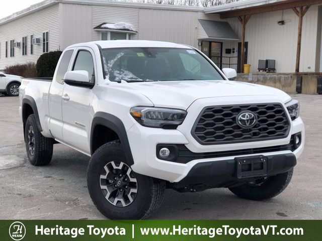 2021 Toyota Tacoma TRD Off-Road Access Cab 6' Bed V6 AT South Burlington VT