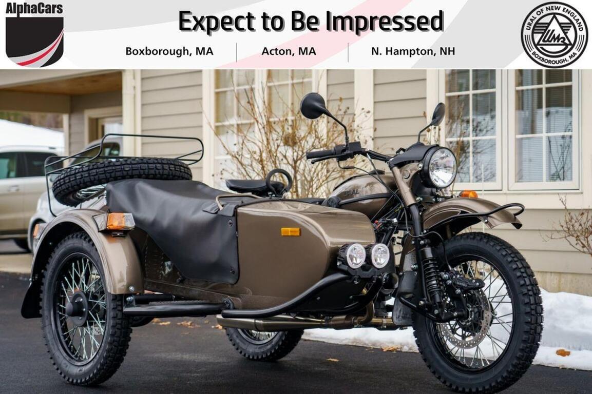 2021 Ural Gear Up Bronze Metallic Boxborough MA