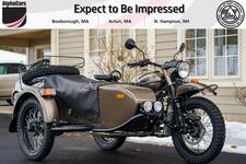 2021 Ural Gear Up Bronze Metallic