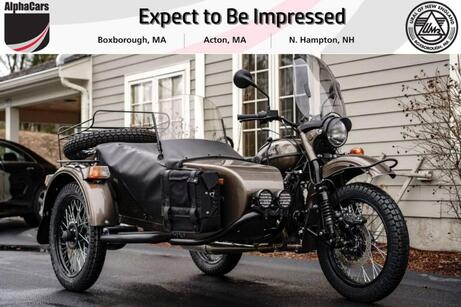 2021 Ural Gear Up Bronze Metallic Custom Boxborough MA
