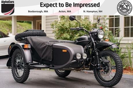 2021 Ural Gear Up Ghost Boxborough MA