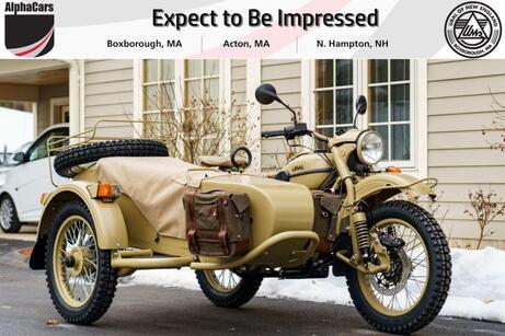 2021 Ural Gear Up Heritage Pustinja Boxborough MA