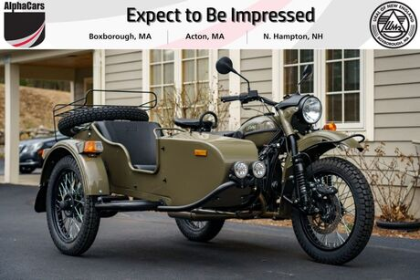 2021 Ural Gear Up Olive Gloss Boxborough MA