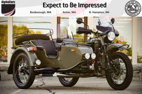 2021 Ural Gear Up Olive Gloss Custom Boxborough MA