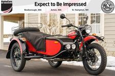 2021 Ural Gear Up Red & Black